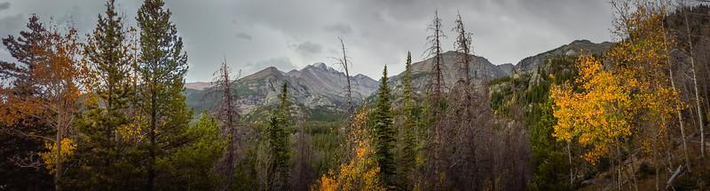 Autumn Along Dream Lake Trail in RMNP
