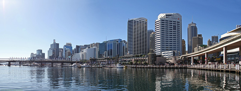 Darling Harbour in Sydney, Australia