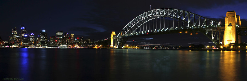 Sydney city & Harbour Bridge