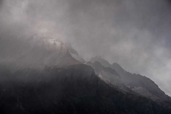 Cuernos in the Clouds - Torres del Paine, Chile