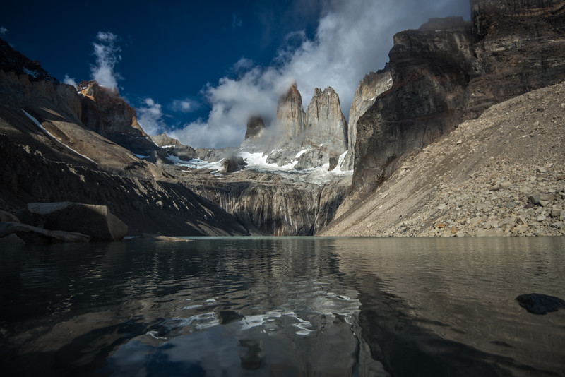 Towers at Dawn - Torres del Paine, Chile