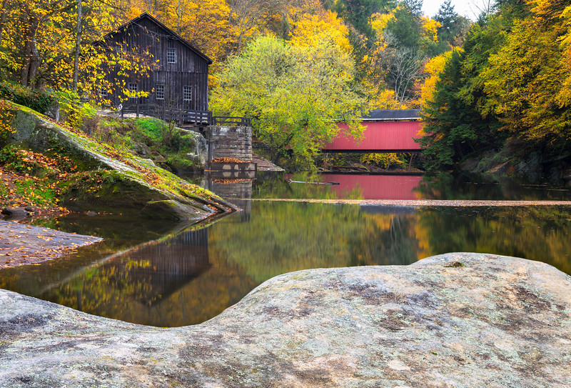 "<center><br><font size=""4"" color=""white""><b>""Rockin' at the Mill"" - McConnell's Mill State Park, PA</b><br> </font> <br><font size=""3"" color=""white""> <u>Recommended Print sizes*</u>:<br>  4x6  