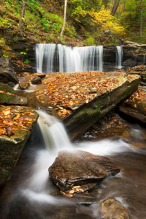 """""""Delaware Falls"""" - Ricketts Glen State Park   Recommended Print sizes*:  4x6  