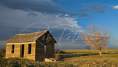 Farm House on the Prairie