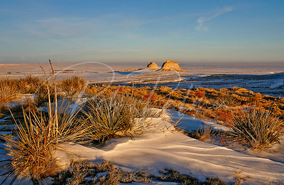 Pawnee Buttes in Winter, Pawnee National Grasslands