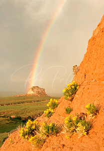 Pawnee Buttes Rainbow, Pawnee National Grasslands
