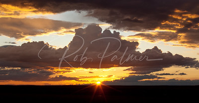 Wyoming Sunset 8096