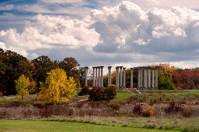 Columns at National Arboretum