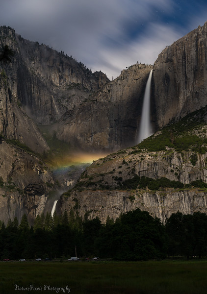 Moonbow - Upper Yosemite Falls