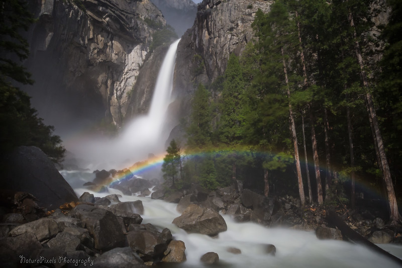Moonbow - Lower Yosemite Falls