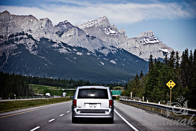 Travelling the Trans-Canada Highway at Banff National Park, Alberta, Canada  © Copyright Hannah Pastrana Prieto