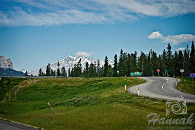 Curve road somewhere at Banff National Park, Alberta, Canada  © Copyright Hannah Pastrana Prieto
