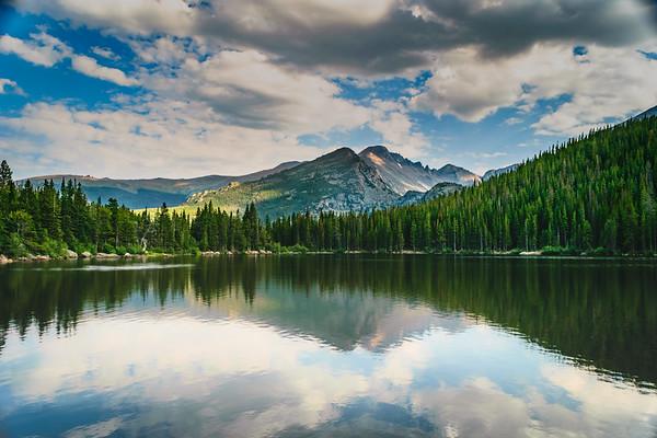 Longs Peak Reflection