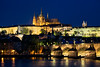 """Prague Castle""<br /> <br /> The Prague Castle at twilight, Prague, Czech Republic."