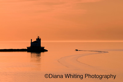 Oswego Harbor Sunset  3