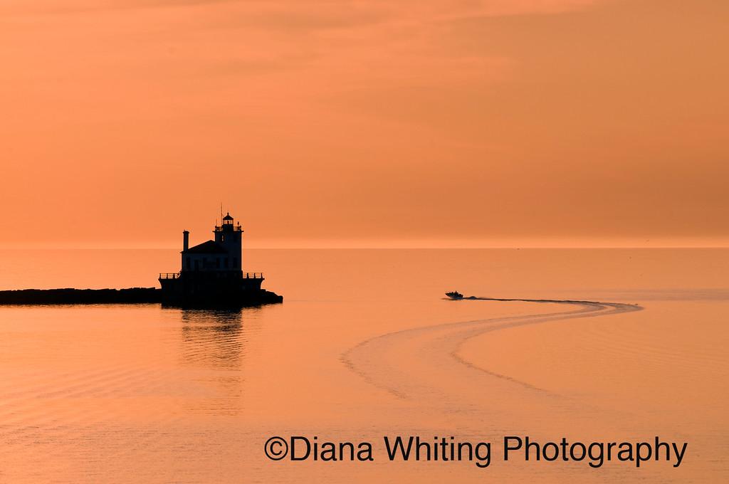Oswego Harbor Sunset  3