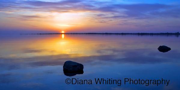Wolf Island Sunset