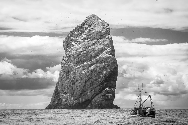Stac Lee Fishing Boat -  St. Kilda, Scotland