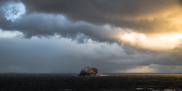 Spring Storms -  Bass Rock, Scotland