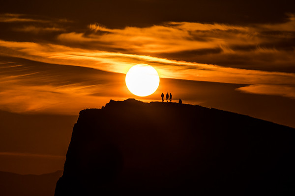 Into the Sunset - Arthur Seat, Edinburgh