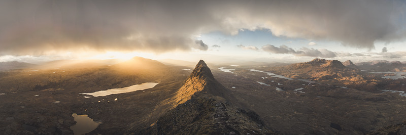 Assynt Dawn Panoramic