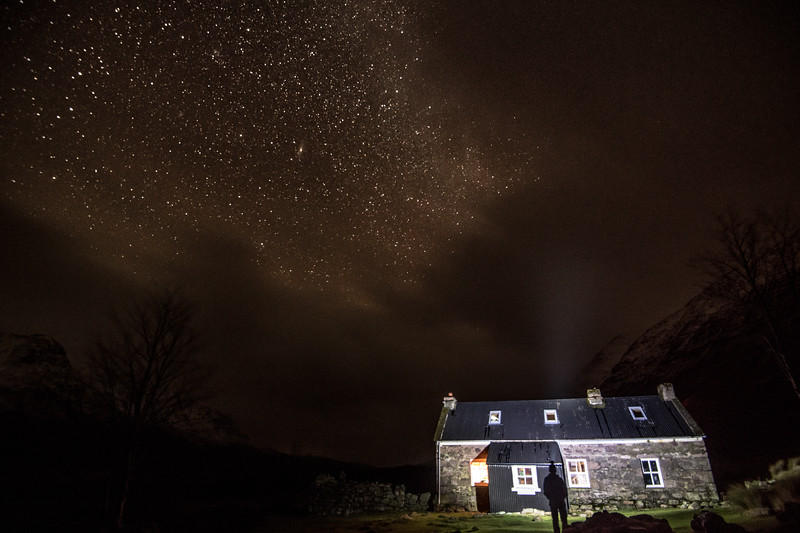 Shenevall Night - Wester Ross, Scotland