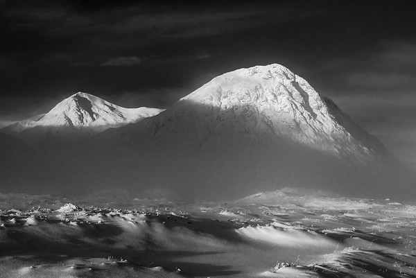 Buachaille Winter - Glencoe, Scotland