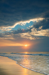 """Sunrise Surf"" - Myrtle Beach, South Carolina   Recommended Print sizes*:  4x6  