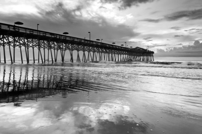 """Garden of Glass"" - Garden City Pier, Myrtle Beach   Recommended Print sizes*:  4x6  