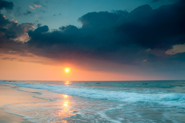 """Orange and Blue"" - Myrtle Beach, South Carolina   Recommended Print sizes*:  4x6  