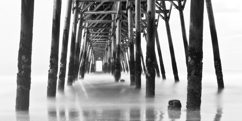 """Vanishing Point"" - Myrtle Beach, South Carolina   Recommended Print sizes*:  4x8  