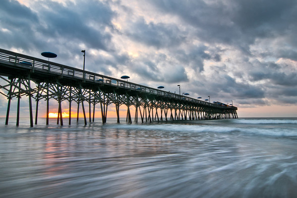 """The Longest Dawn"" - Myrtle Beach, South Carolina   Recommended Print sizes*:  4x6  