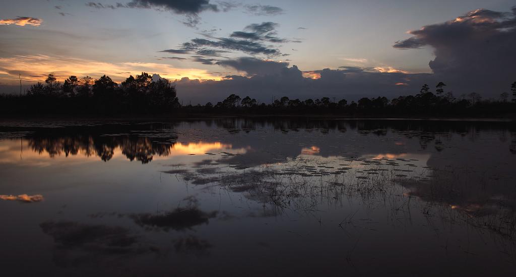 Sunset at Jonathan Dickinson State Park