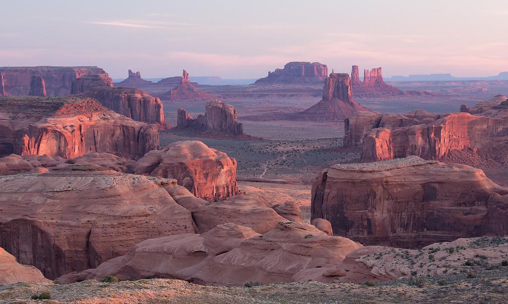 """Hunt's Mesa Sunrise"""