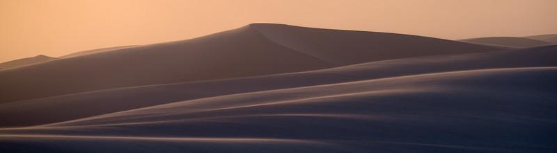 """""""White Sands Sunset Panorama"""""""