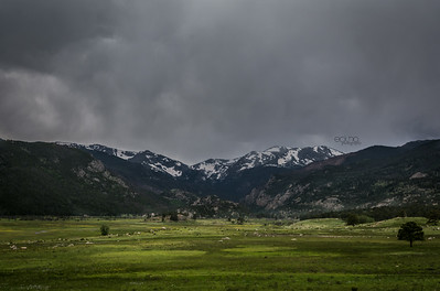 Stormy Day in the Mountains