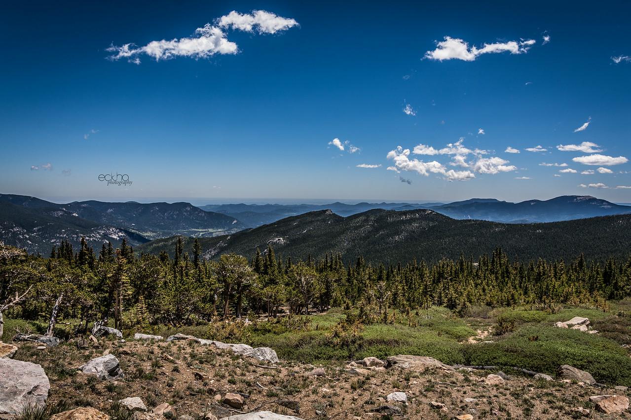"Mount Evans - ""9 Miles Up"""