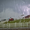 Lightning at Horsebarn Hill, UConn
