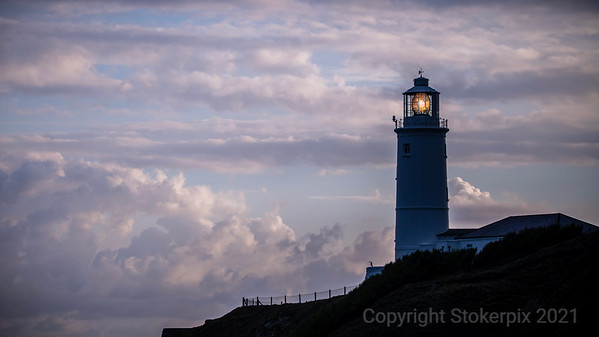 Trevose Head Lighthouse shortly after Dawn