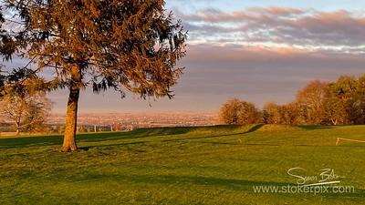Sunset Ocxfordshire