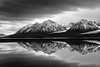 """Black and White Reflection #1"""