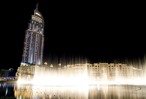 Dancing Fountain at the Souk Al Bahar