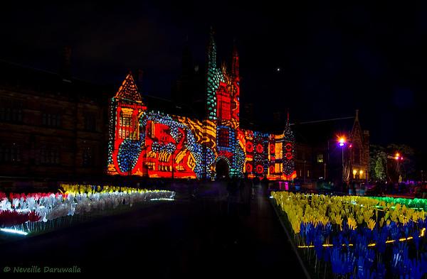 Sydney University - Vivid 2015