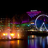 Darling Harbour - vivid 2015