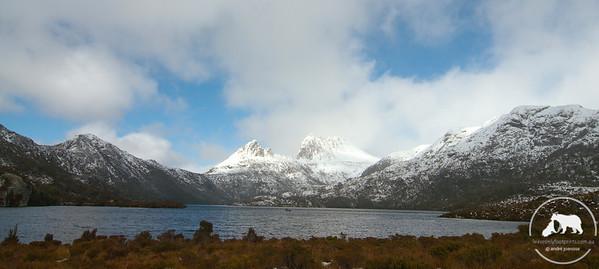Winter Scene at Cradle Mountain National Park, Tasmania.
