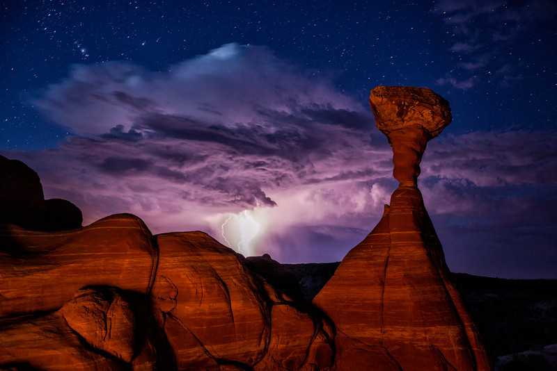 Hoodoos, Stars and Lightning