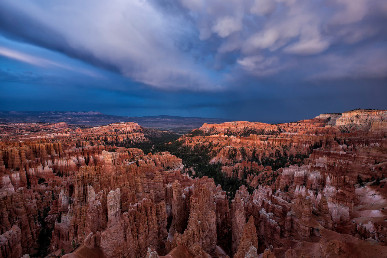 Storm over Bryce Canyon