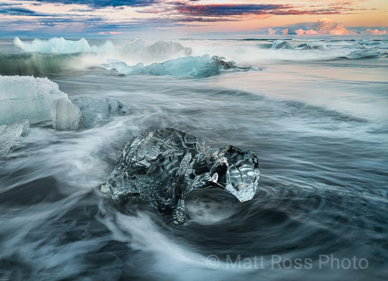 ICE DIAMOND, DIAMOND BEACH (BREIDAMER KUSANDUR)