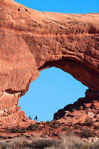 North Window  Arches National Park   Utah