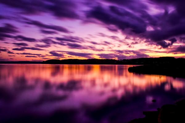 Oak Harbor Sunset